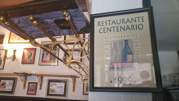 Restaurante Centernario