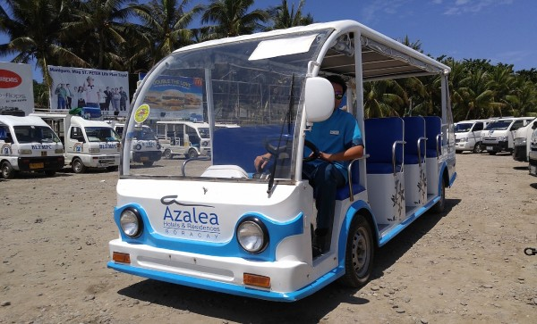 Azalea Boracay Service Vehicle