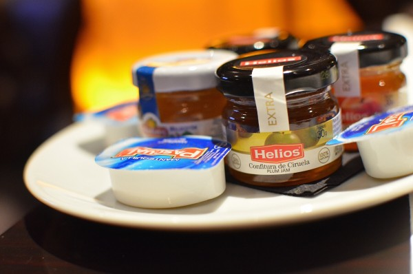 Butter and Fruit Jams