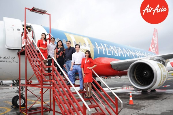 Henann Group of Resorts special livery aircraft