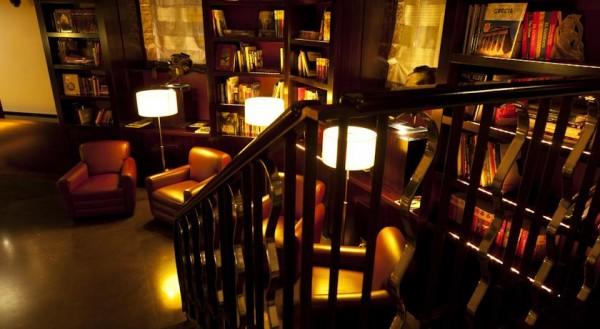 Mini Library at the Lobby