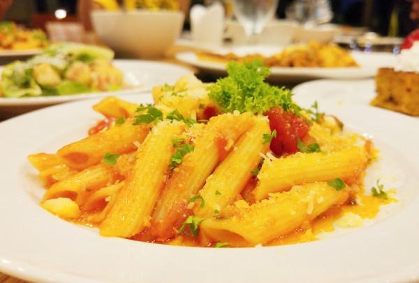 Pasta at Tradisyon Restaurant