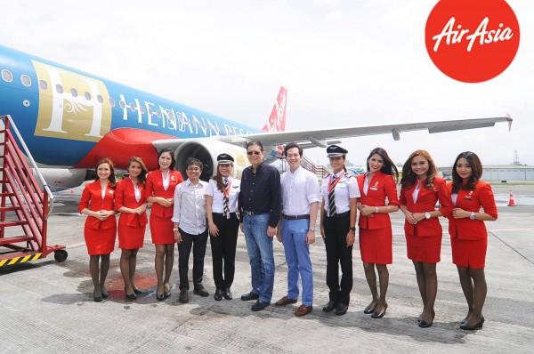 The #HenannxAirAsia Livery Aircraft