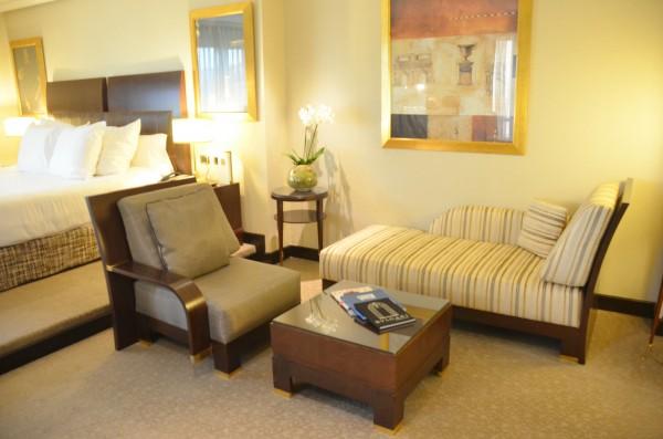 Living Area inside my Junior Suite
