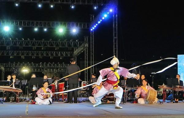 Local Performers at Wonju Dynamic Dancing Carnival