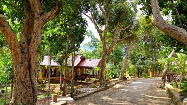 Resort inside a beautiful garden