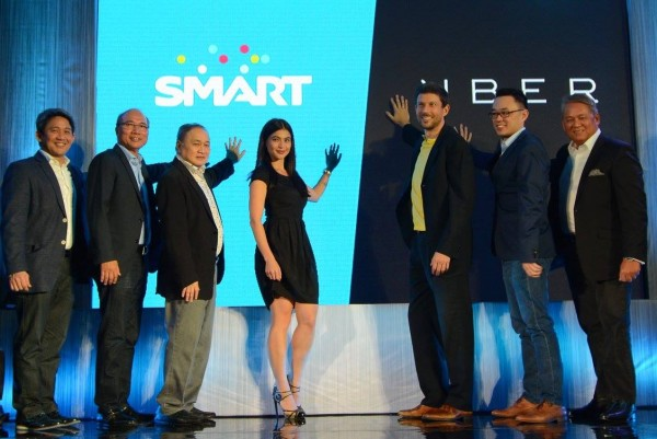 SMART and Uber Executives with Anne Curtis