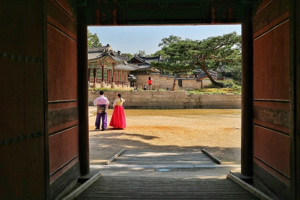 Sample Travel Photo using Canon EOS M3 - Inside Changdeokgung Palace in Seoul Korea