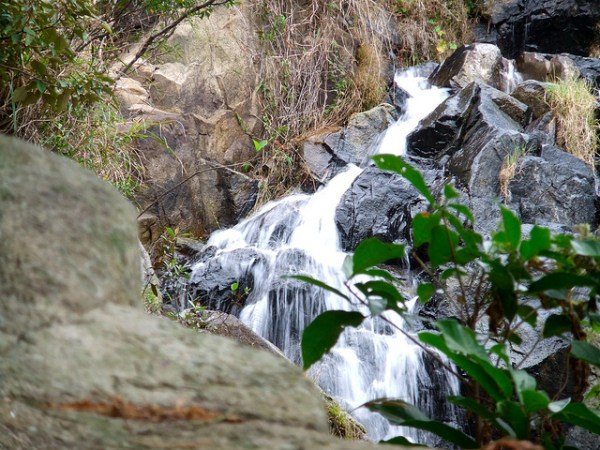 Silvermine Waterfalls by James Cridland via Flickr