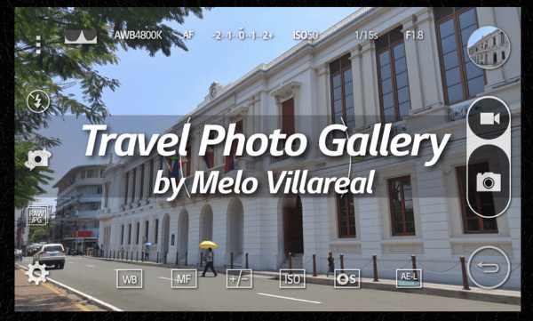 Travel Photography Gallery by Melo Villareal using LG G4