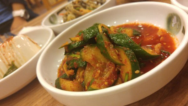 Spicy Cucumber Kimchi