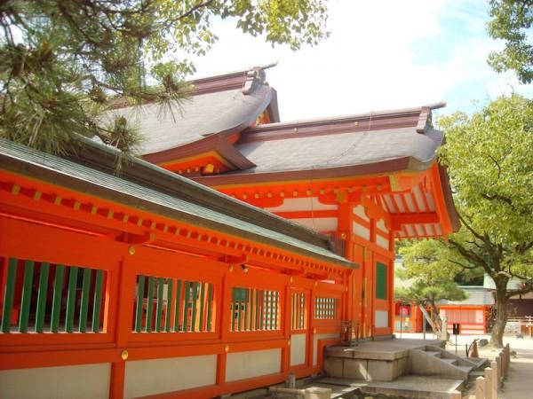 Sumiyoshi Shrine in Fukuoka Japan