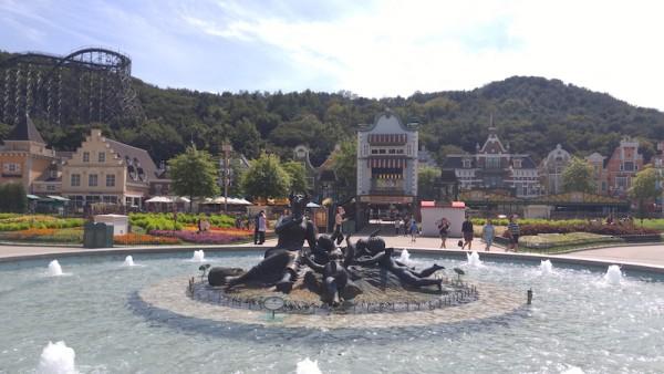 Water Fountain inside Four Seasons Garden