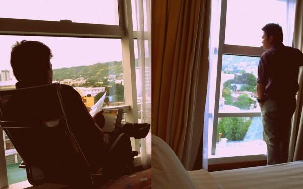 Appreciating the view