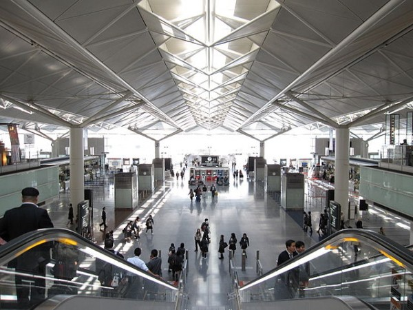 Chubu Centrair International Airport Main hall of arrival
