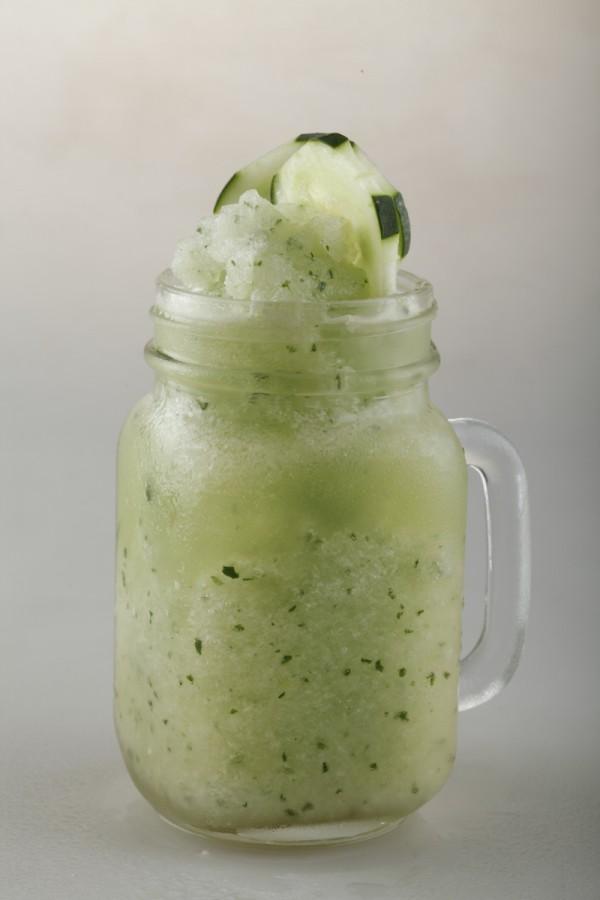 Cucumber, Lemon, and Mint Combo Shake