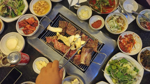 Famous Korean Beef BBQ from Bonsuwon