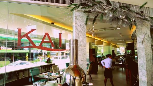 Kai Restaurant at the groundfloor