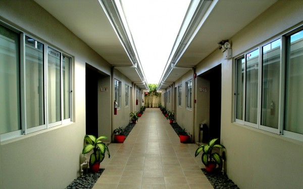 Long quiet hallways