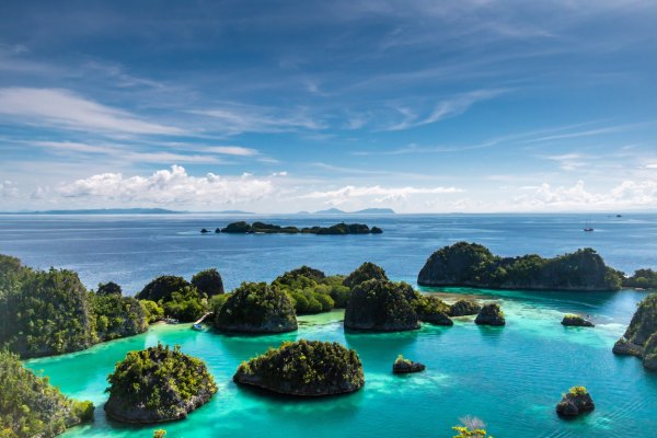 Raja Ampat Islands by Sutirta Budiman via Unsplash