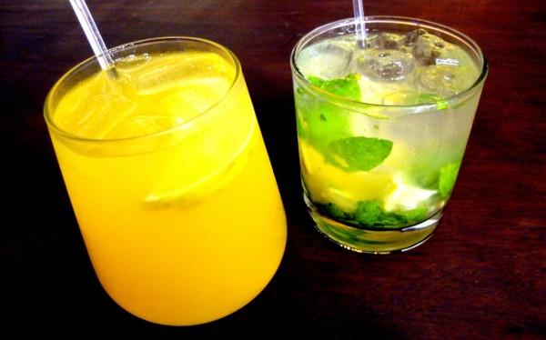Sangria Blanca and Cocojito