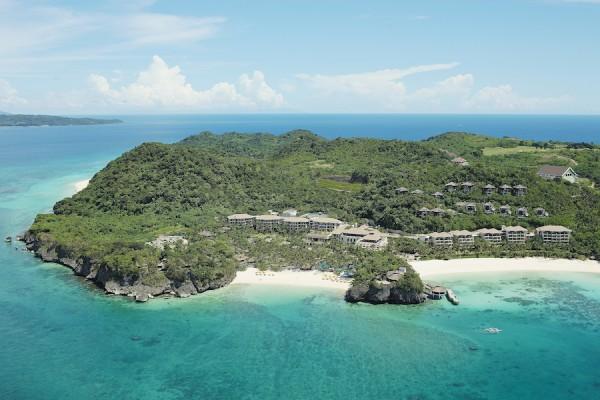 Shangri-La Boracay Resort and Spa Aerial Shot