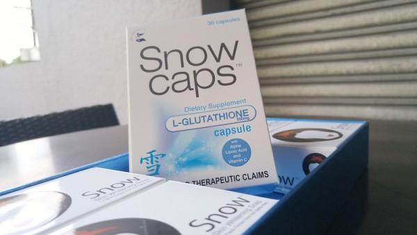 Snowcaps L-glutathione