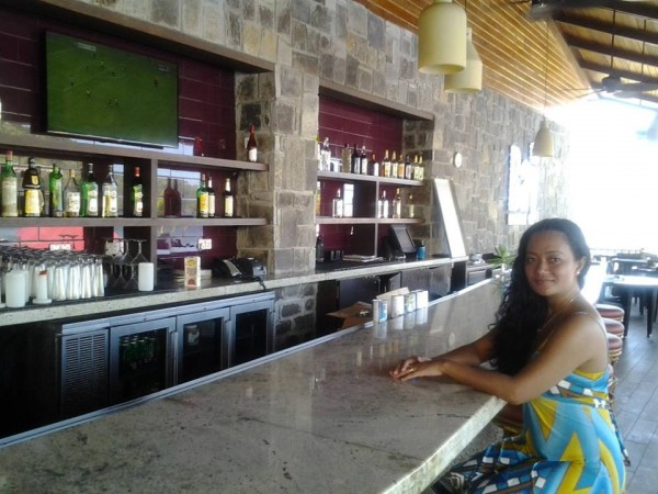 The Bar at The Bay Beach Club, Where They Make My Pinacoladas