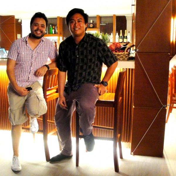 The King of Sinulog with Mr. Iñaki Martinez