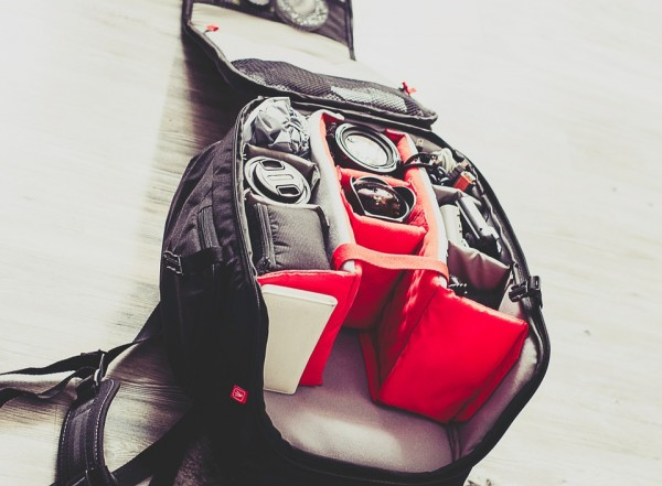 Essential Travel Items Camera Backpack