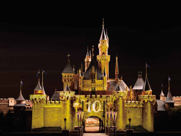 Castle Projection Twilight Moment