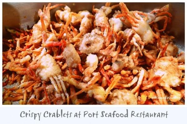 Crispy Crablets at Pork Seafood Restaurant