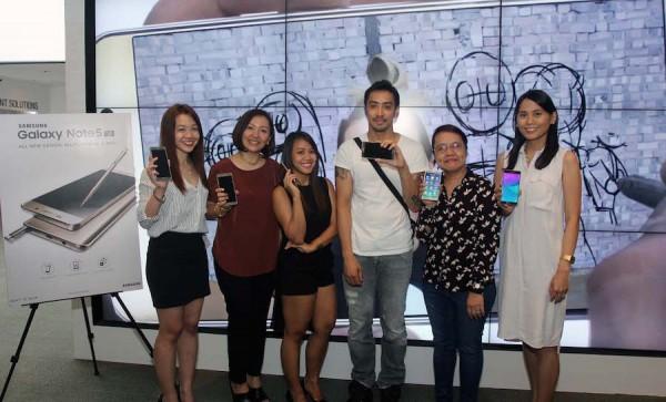 Lucky Uber riders Samsung Galaxy 5 Winners
