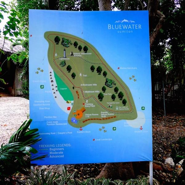 Sumilon Island Map