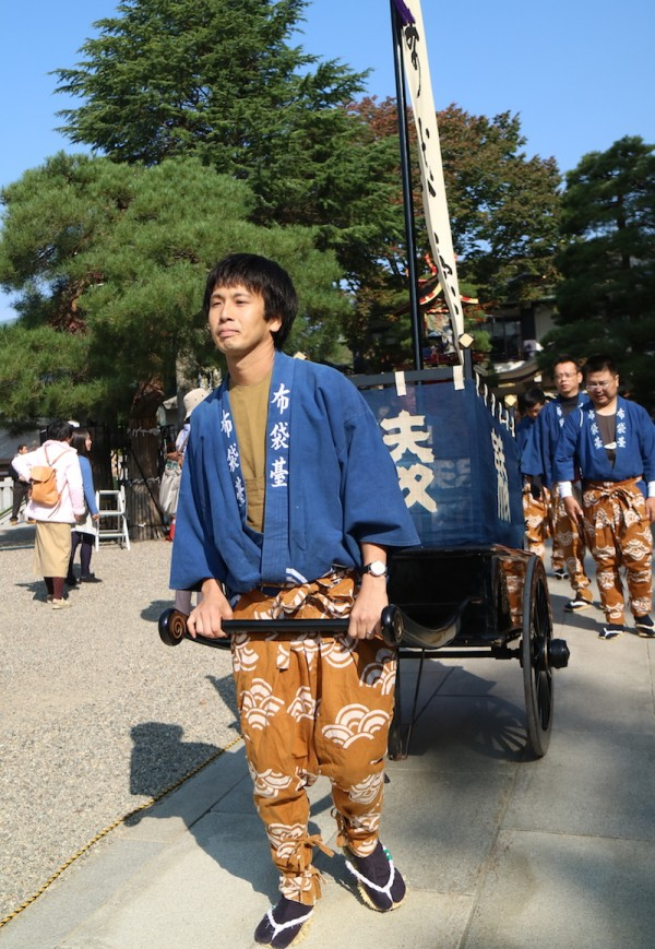 Takayama Autum Festival Participants