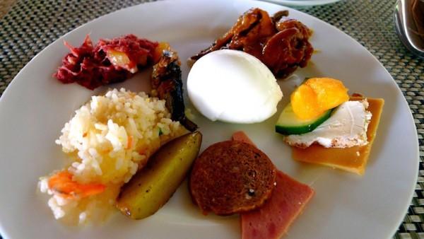 My breakfast plate