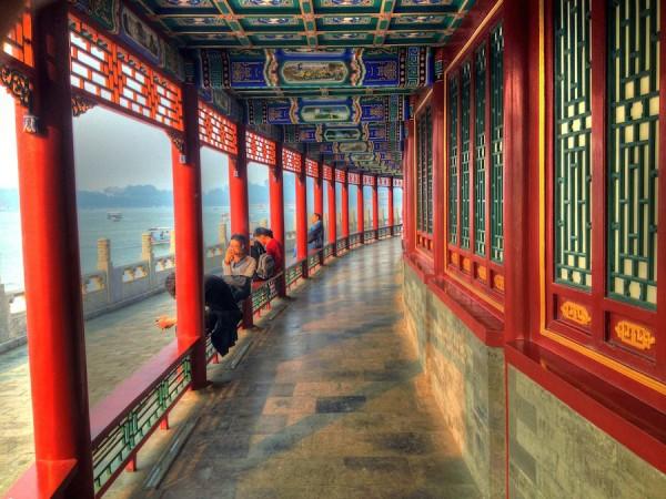 Beihai Temple in Beijing China