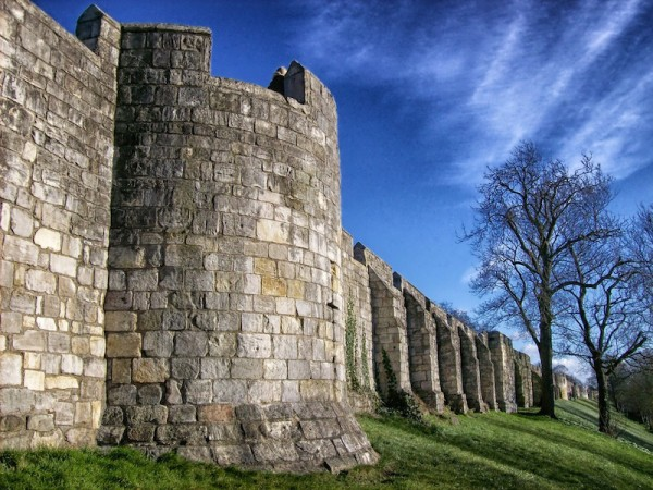 City Walls in York England - Romantic Activities to do in England