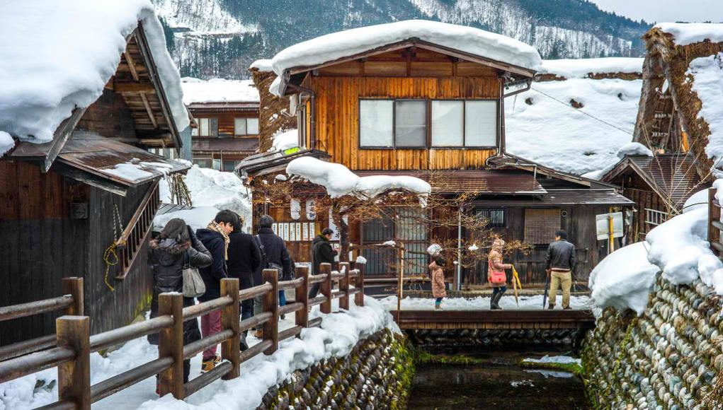 Shirakawa Village during Winter by Colin Tsoi