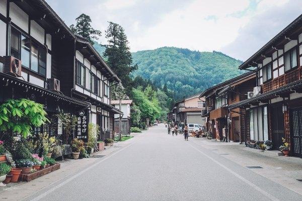 Shirakawa-go by Rap dela Rea via Unsplash