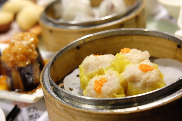 Traditional Siu Mai with Quaill Egg