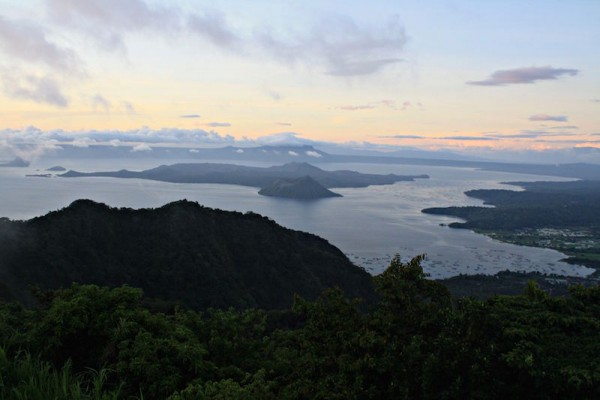View of Taal Volcano Island from Tagaytay