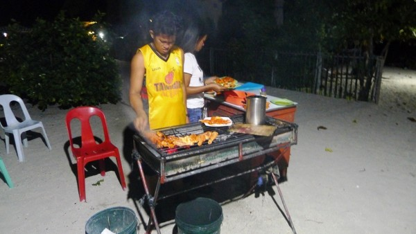 Barbecue for dinner