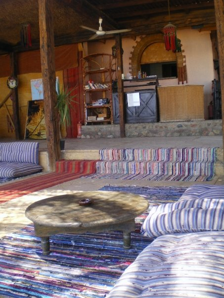 Bedouin-style lounge areas