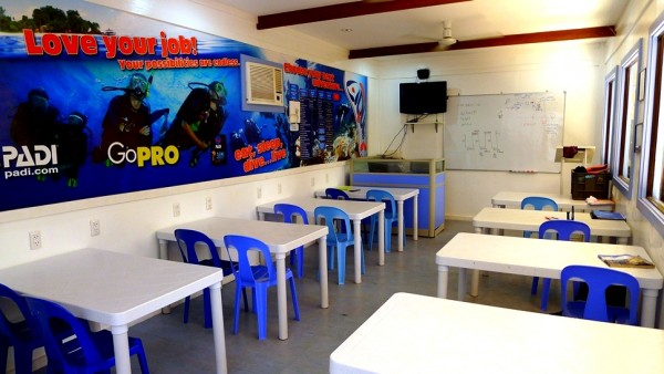 Function Hall for Dive Lessons