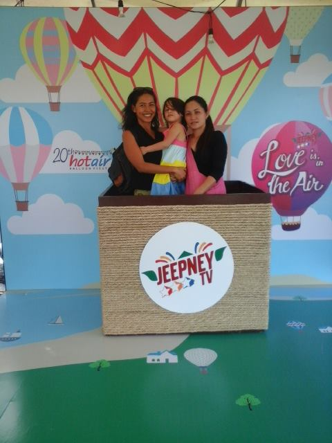 Jeepney TV photo-op booth
