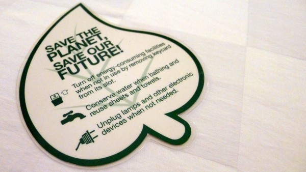 Let us do our part on ecological sustainability