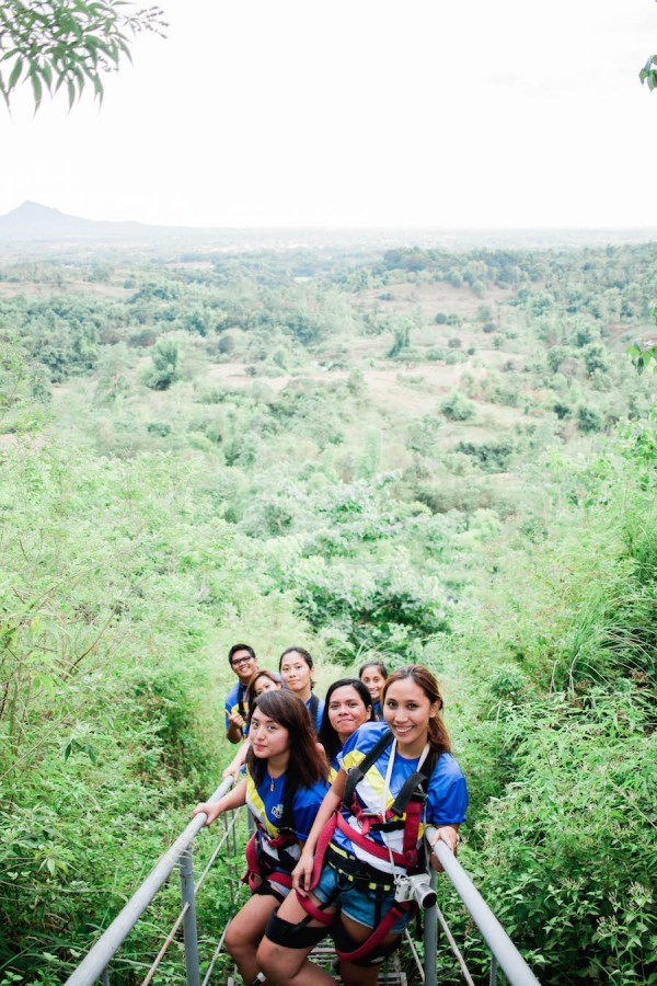 NLEX Lakbay Norte 5 Participants at Balungaho Hilltop Adventure