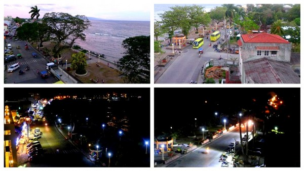 Rizal Boulevard from the fifth floor