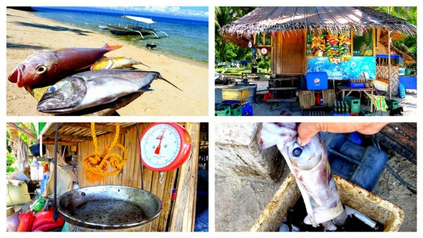 Sari-sari store and fresh fish supplier